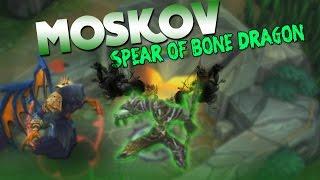 Mobile Legends Moskov Spear of Bone Dragon Gameplay!