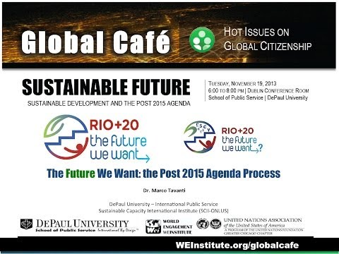 GLOBAL CAFE SUSTAINABLE FUTURE