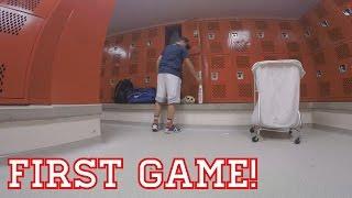 FIRST GAME! High School Baseball Gameday Vlogs #1
