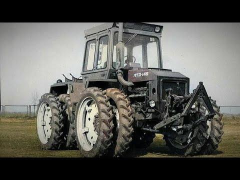 Уникальный перспективный трактор СССР который не увидел серийного производства  ЛТЗ -145