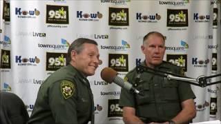 Wyoming Highway Patrol Col. Haller And Trooper Colling