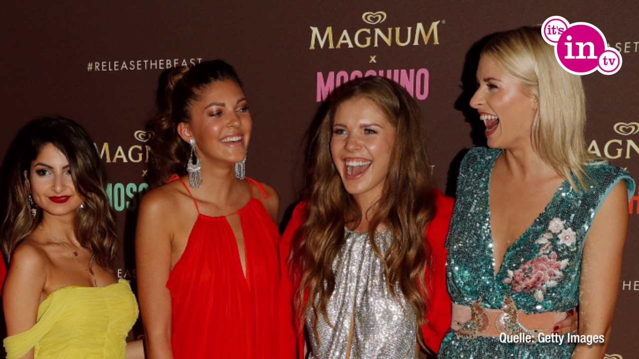 Magnum Party In Cannes Lena Gercke Posiert Mit Youtube Stars