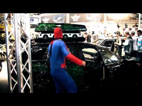 Superior TV - Spiderman 2 @ Bilsport Performance & Custom Motor Show 2011
