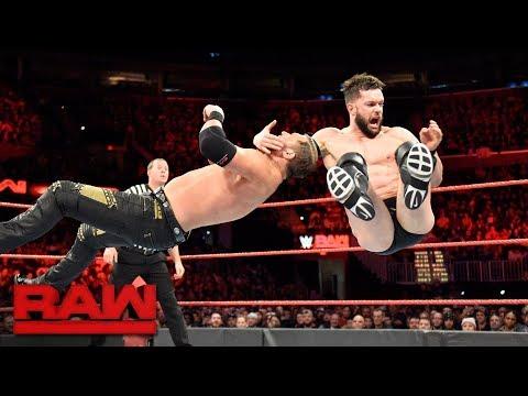 Finn Bálor vs. Curtis Axel: Raw, Dec. 11, 2017