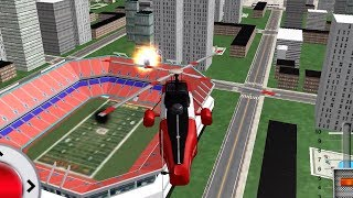 911 Helicopter Fire Rescue Truck Driver 3D Mobile/Ipad/Tablet Game