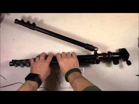 """Neewer Portable 62""""/158cm Alluminum Alloy Camera Tripod Unbox And Thorough Review"""