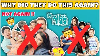 Why did they do this again?   Best of Luck Nikki   Oye Jassie   REASON?   Disney India