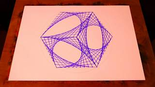 Learn To Paint 3D Geometric Cube Art | Spirograph Tutorial