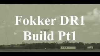 DW Hobby Fokker DR1 build Pt1 RC Model Geeks