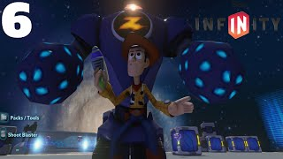 Disney Infinity 1.0 - Toy Story in Space Playset Part 6 - Completing Slinky's Battle Simulations