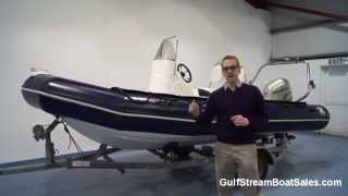 Zodiac Pro 550 RIB For Sale UK and Ireland -- Review and Water Test by GulfStream Boat Sales