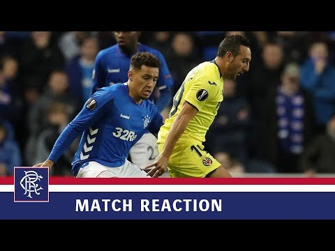 REACTION | James Tavernier | Rangers 0-0 Villarreal