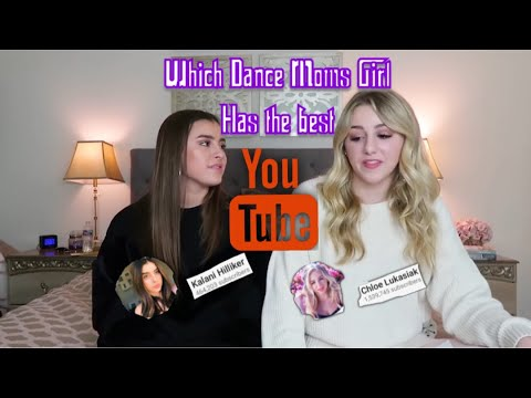 Which Dance Moms Girl Has The Best Youtube Channel