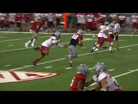 Highlights: WSU Football Scrimmage Aug. 19