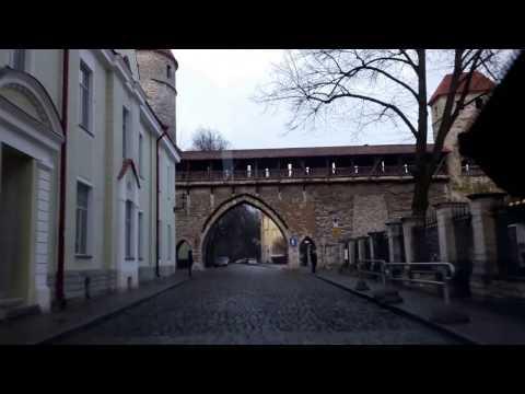 Tallinn Old Town drive