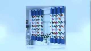 Оригинальные шторы для детской комнаты(Продолжение на нашем сайте http://dizroom.com/originalnye-shtory-dlya-detskoj-komnaty-foto/, 2013-11-19T19:48:46.000Z)