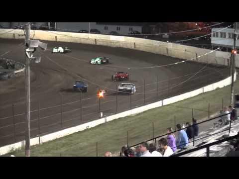 Farley Speedway IMCA Northern Sport Mod feature 8/15/14