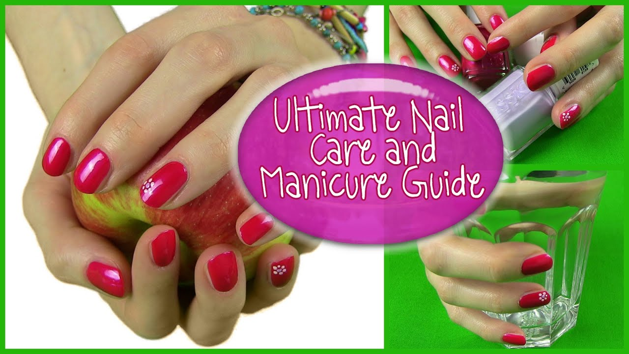 My Nail Care Routine! 16 Tips to Healthy Beautiful Strong Long Nails & How To Manicure