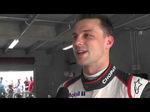 Hampton Downs Porsche Festival 2016: Interview with Earl Bamber