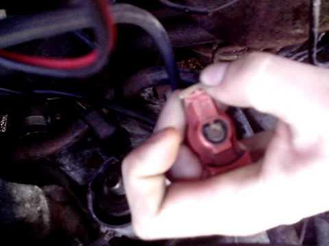 Установка опережения зажигания на AUDY 80 с мотором 1,8