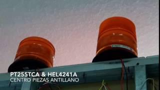 FAROL DE EMERGENCIA HEL4241A & PT255TCA