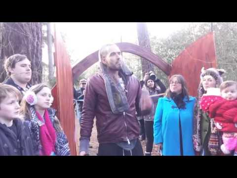 Alice's Treehouse opened by the inspiring Russell Brand !