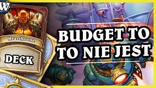 BUDGET TO TO NIE JEST :) - RECRUIT WARRIOR - Hearthstone Deck Wild (The Boomsday Project)