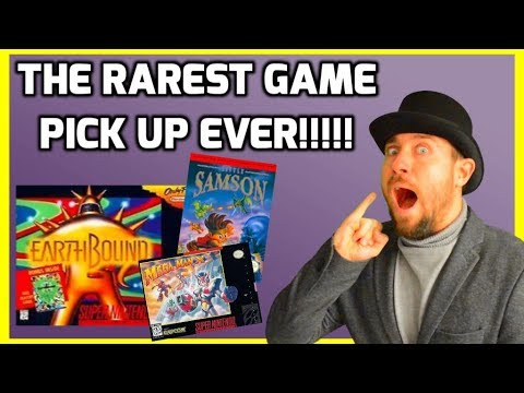 The Rarest Game Pick Up Ever!!!! - Retro Gaming - THGM