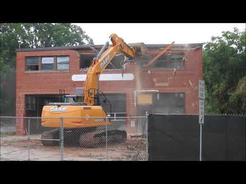 8/8/17 - Raleigh FD - Station 6 Demolition - Part 1