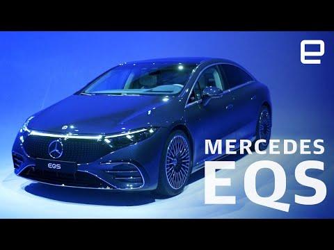 Mercedes EQS first