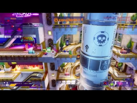 Worms Rumble Missile Mall Death Match 20 kills, 8 deaths Victory  