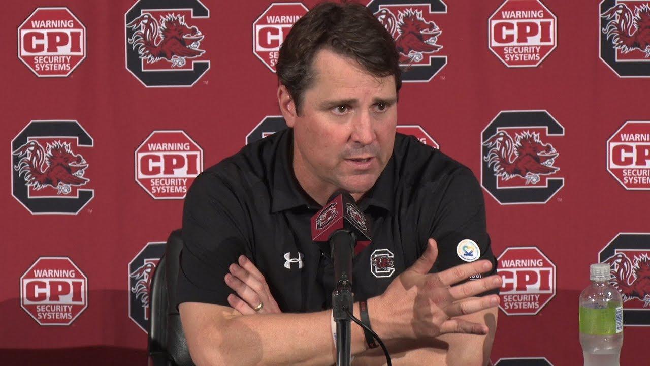 POST-GAME: Will Muschamp on Louisiana Tech — 9/23/17 - YouTube
