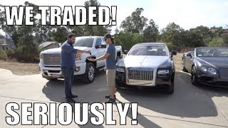 Traded My Truck For A Rolls Royce!