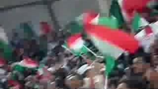video amatoriale ITALIA - SCOZIA al San Nicola di Bari