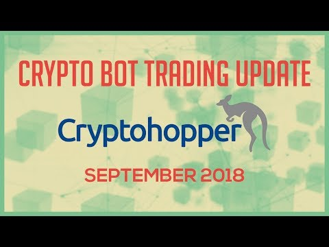 Cryptohopper Trading Bot Update - September 2018 - Cryptohopper Settings