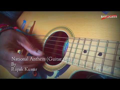 National Anthem | Guitar Tabs | RUPAK KUMAR | RAYLIGHTS