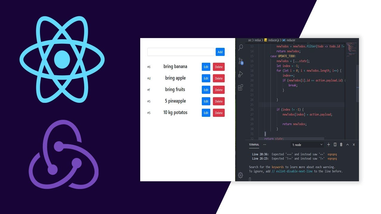 Build To Do App with React JS + Hooks + Redux