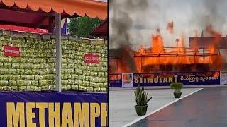 Why Nearly $1 Billion in Drugs Was Set on Fire in Myanmar