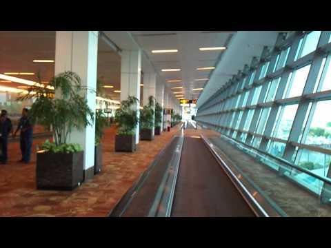 At Indira Gandhi International Airport