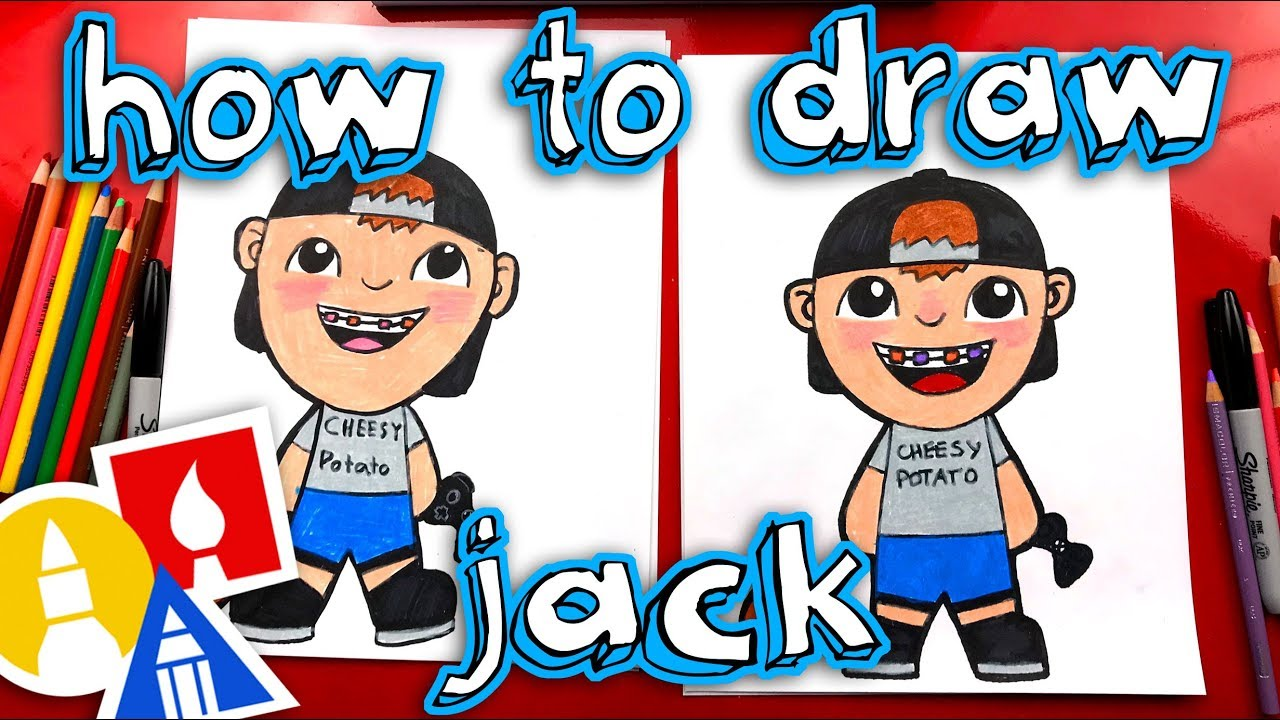 How To Draw Jack From Art For Kids Hub Youtube