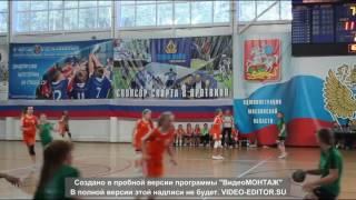Краснодарские гандболистки 2004г.р.Финал в Протвино.