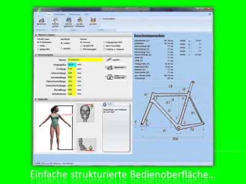 optimale fahrrad sitzh he und sitzposition youtube. Black Bedroom Furniture Sets. Home Design Ideas