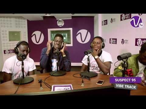 FREESTYLE SUSPECT 95 sur Vibe Radio Côte d'Ivoire