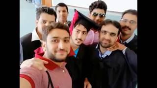 I got GoldMedal from Barani PMAS AAUR Arid Agriculture University Rawalpindi Convocation BIIT