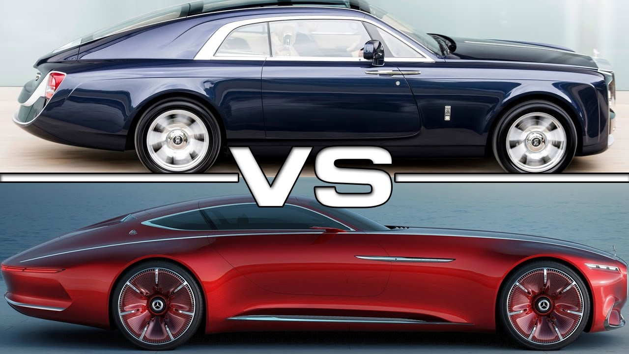 12 8 mil rolls royce sweptail vs 2018 mercedes maybach vision 6 youtube. Black Bedroom Furniture Sets. Home Design Ideas