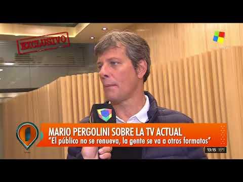 Hablamos con Mario Pergolini sobre sus nuevos desafíos