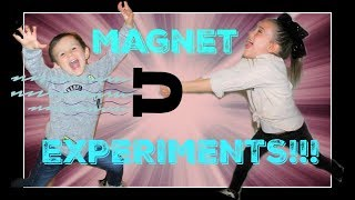 Magnet Experiments for Kids - Educational Video for Kids