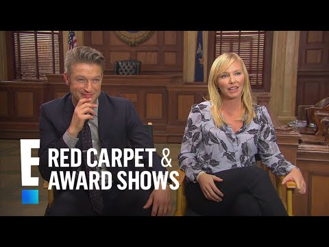 Peter Scanavino and Kelli Giddish Dish on