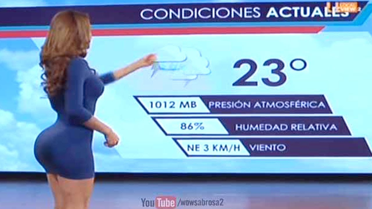 is this the hottest weather reporter? - yanet garcia - youtube