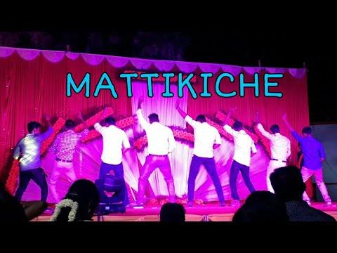 Mattikiche Dance Cover Comedy Performance